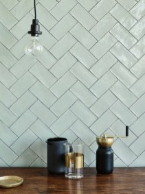 Affordable Kitchen Wall Tile Design Ideas To Try Right Now 30