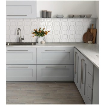 Affordable Kitchen Wall Tile Design Ideas To Try Right Now 36