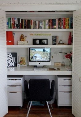 Astonishing Small Home Office Design Ideas To Try Today 17