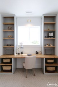 Astonishing Small Home Office Design Ideas To Try Today 46