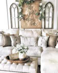Comfy Farmhouse Living Room Decor Ideas To Try This Year 21