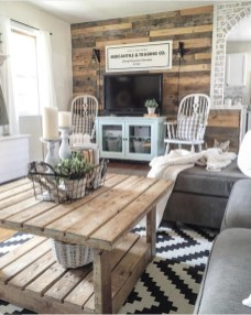 Comfy Farmhouse Living Room Decor Ideas To Try This Year 22