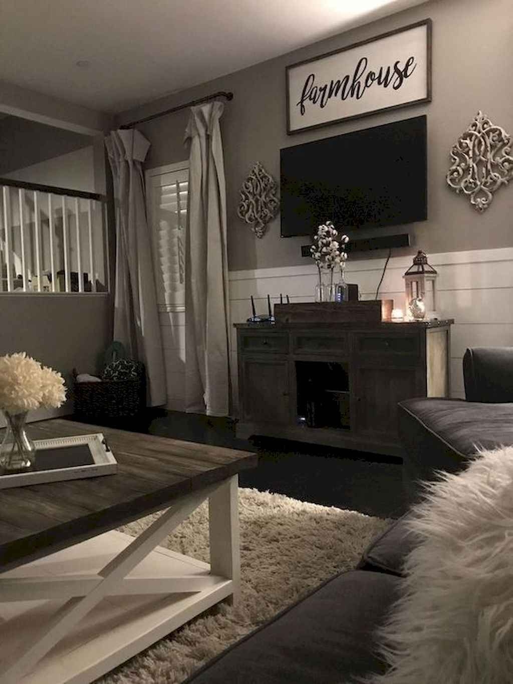 Comfy Farmhouse Living Room Decor Ideas To Try This Year 25