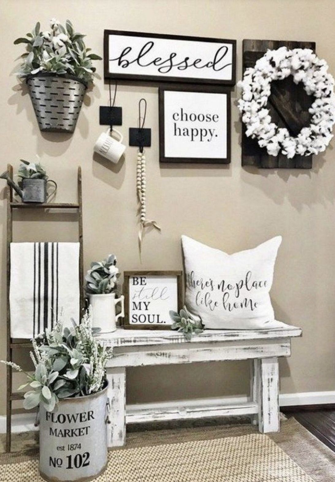 Comfy Farmhouse Living Room Decor Ideas To Try This Year 33