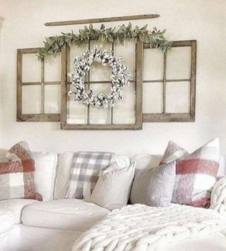 Comfy Farmhouse Living Room Decor Ideas To Try This Year 34