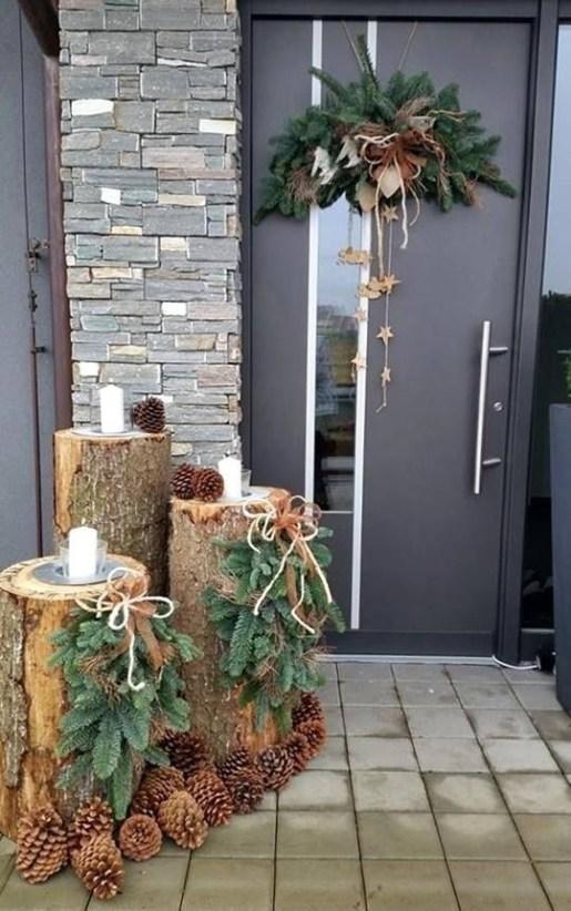 Cozy Outdoor Christmas Decor Ideas To Have Asap 37
