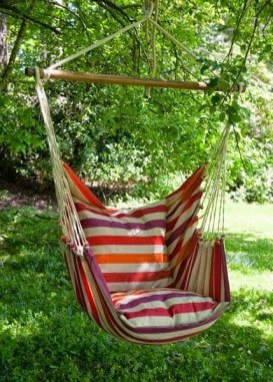Creative Swing Chairs Garden Ideas That Looks Adorable 27