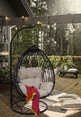 Creative Swing Chairs Garden Ideas That Looks Adorable 29