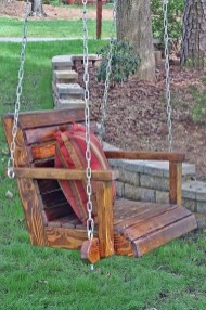 Creative Swing Chairs Garden Ideas That Looks Adorable 32