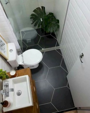 Enjoying Small Bathroom Floor Tile Design Ideas To Inspire You 15