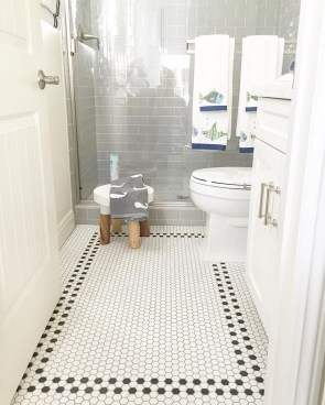 Enjoying Small Bathroom Floor Tile Design Ideas To Inspire You 36