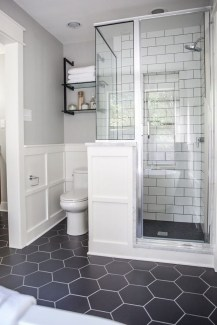 Enjoying Small Bathroom Floor Tile Design Ideas To Inspire You 38