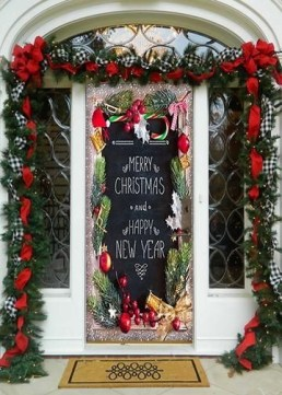 Inspiring Diy Christmas Door Decorations Ideas For Home And School 01