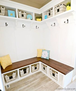 Latest Diy Storage Bench Design Ideas For Your Unique Living Room Decoration 34