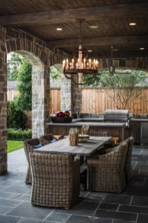Luxury Outdoor Kitchen Design Ideas That Brings A Cleaner Looks 04