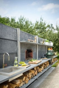 Luxury Outdoor Kitchen Design Ideas That Brings A Cleaner Looks 13