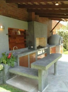 Luxury Outdoor Kitchen Design Ideas That Brings A Cleaner Looks 31
