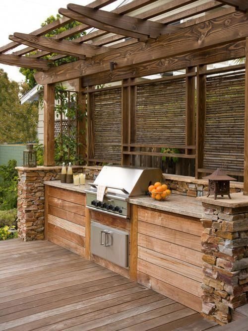 Luxury Outdoor Kitchen Design Ideas That Brings A Cleaner Looks 37