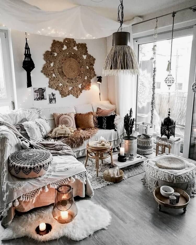 Pretty Bohemian Style Decorating Ideas For New And Reliable Inspirations 43