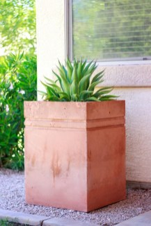 Relaxing Diy Concrete Garden Boxes Ideas To Make Your Home Yard Looks Awesome 02