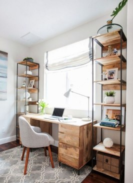 Unique Small Home Office Design Ideas To Try Asap 17