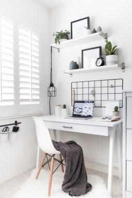 Unique Small Home Office Design Ideas To Try Asap 24
