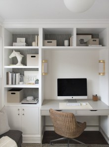 Unique Small Home Office Design Ideas To Try Asap 29