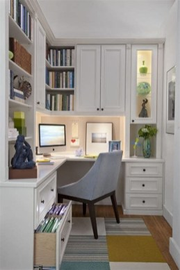 Unique Small Home Office Design Ideas To Try Asap 33