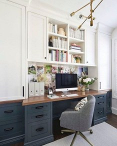 Unique Small Home Office Design Ideas To Try Asap 38