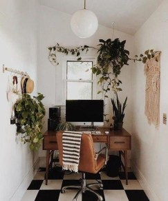 Unique Small Home Office Design Ideas To Try Asap 39