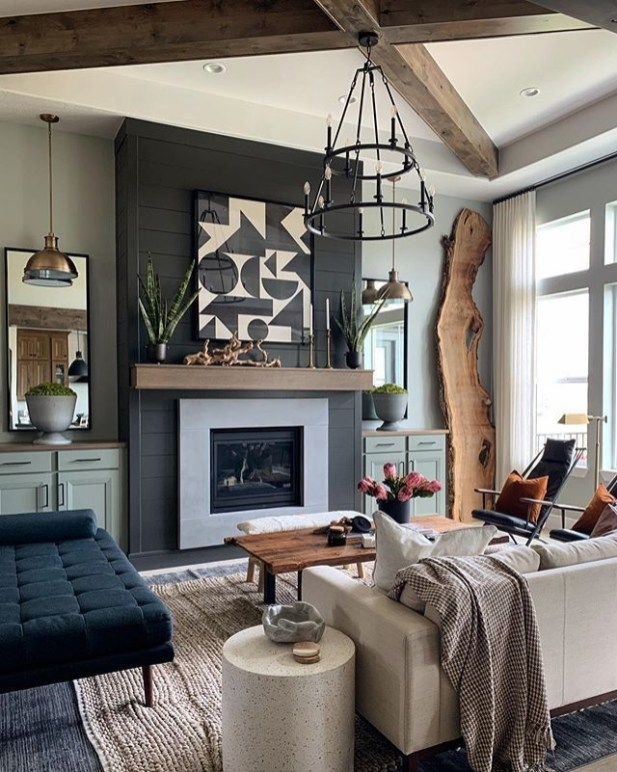 Attractive Family Room Designs Ideas That Will Inspire You 39