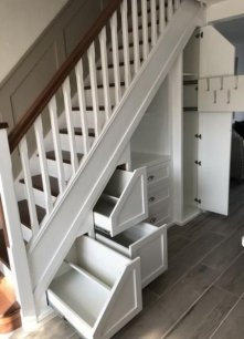 Awesome Storage Ideas For Under Stairs To Try Asap 47