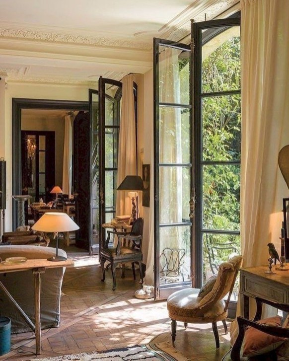 Beautiful French Country Living Room Decor Ideas To Copy Asap 40