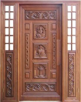 Best Wooden Door Design Ideas To Try Right Now 30