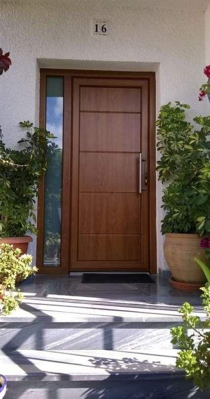 Best Wooden Door Design Ideas To Try Right Now 38