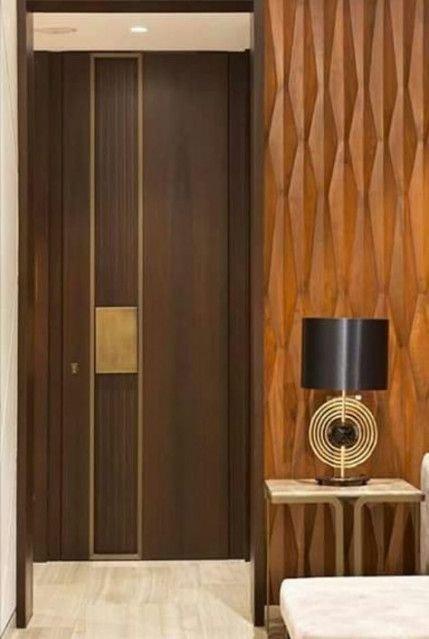 Best Wooden Door Design Ideas To Try Right Now 40
