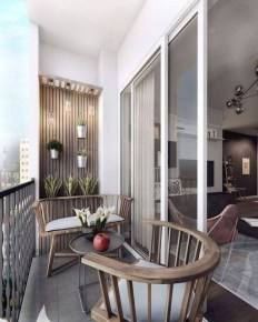 Comfy Apartment Balcony Decorating Ideas That Looks Awesome 05