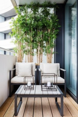 Comfy Apartment Balcony Decorating Ideas That Looks Awesome 17