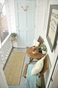 Comfy Apartment Balcony Decorating Ideas That Looks Awesome 39
