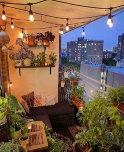 Comfy Apartment Balcony Decorating Ideas That Looks Awesome 46