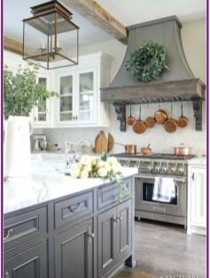 Elegant Farmhouse Kitchen Cabinet Makeover Design Ideas That Very Cozy 31