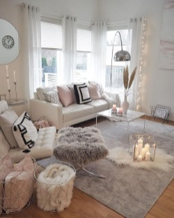 Excellent Living Room Decoration Ideas For Winter Season That Look More Cool 11