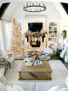 Excellent Living Room Decoration Ideas For Winter Season That Look More Cool 42