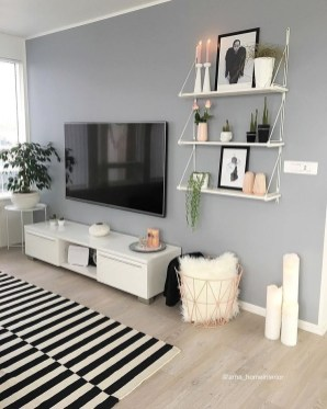 Excellent Living Room Wall Decoration Ideas That You Will Love 24