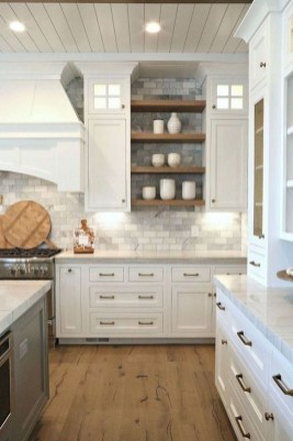 Fabulous Farmhouse Kitchen Backsplash Design Ideas To Copy 07