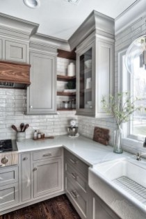 Fabulous Farmhouse Kitchen Backsplash Design Ideas To Copy 19