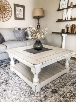 Gorgeous Farmhouse Living Room Makeover Decor Ideas To Try Asap 09