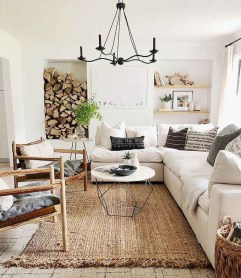 Gorgeous Farmhouse Living Room Makeover Decor Ideas To Try Asap 13