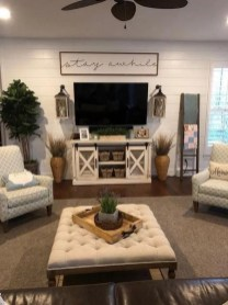 Gorgeous Farmhouse Living Room Makeover Decor Ideas To Try Asap 14
