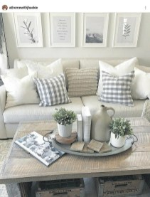 Gorgeous Farmhouse Living Room Makeover Decor Ideas To Try Asap 23